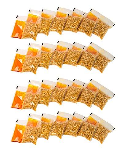 Nostalgia KPP24 4-Ounce Premium Popcorn, Oil & Seasonings Packs – 24 Count