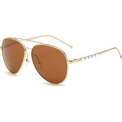 Polarized UV Protection Pilot Sunglasses