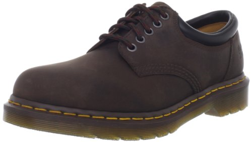 Dr. Martens unisex-adult 8053 5 Eye Padded Collar-U Boot,Gaucho Crazy Horse,5 UK/Women's 7 Men's 6 M US