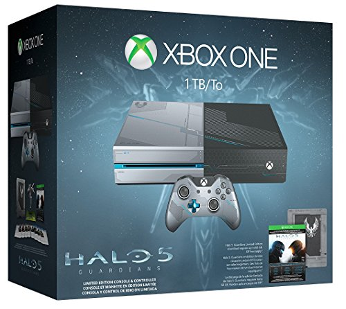 Xbox One 1TB Console – Limited Edition Halo 5: Guardians Bundle