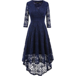 Women's Fashion Vintage Tunic Elegant Evening Party Dress