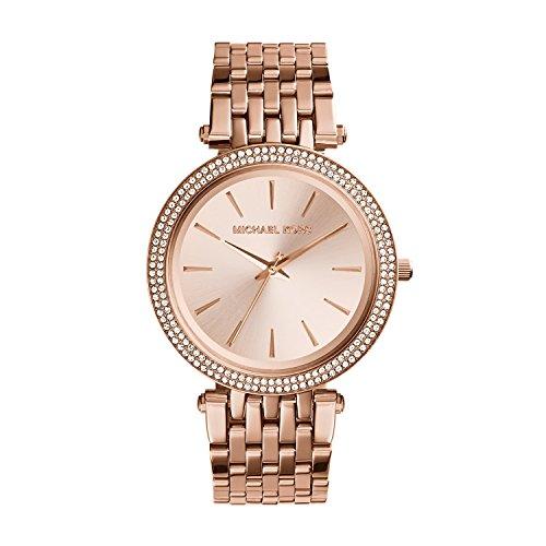 Michael Kors Women's Darci Rose Gold-Tone Watch MK3192