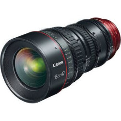 Canon CN-E 15.5-47mm T2.8 L S Wide-Angle Cinema Zoom Lens 7622B002