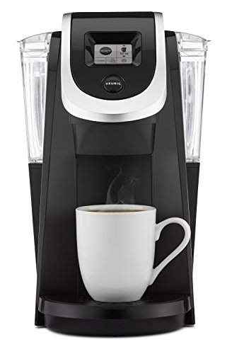 Keurig K250 Single Serve, Programmable K-Cup Pod Coffee Maker, Black (Discontinued)