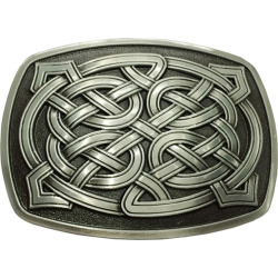 Celtic Pattern Belt Buckle