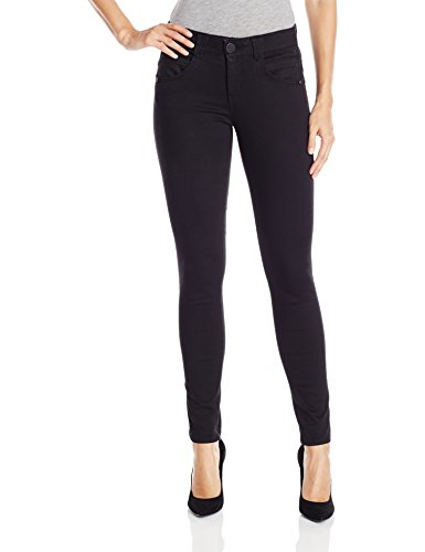 Democracy Women's Ab Solution Booty Lift Jegging, Black, 14