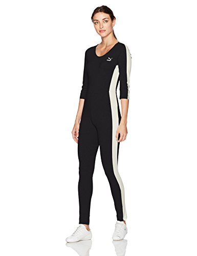 PUMA Women's T7 Jumpsuit, Black, S