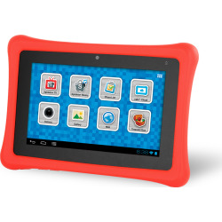 Fuhu nabi 2 Kids Tablet w/ Wi-Fi – White w/ Red Cover (Bulk)