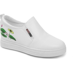 New Spring All-Match Pedal White Shoes