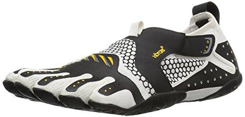 Vibram Women's Signa Athletic Water Shoe, White/Black, 38 EU/7-7.5 M US