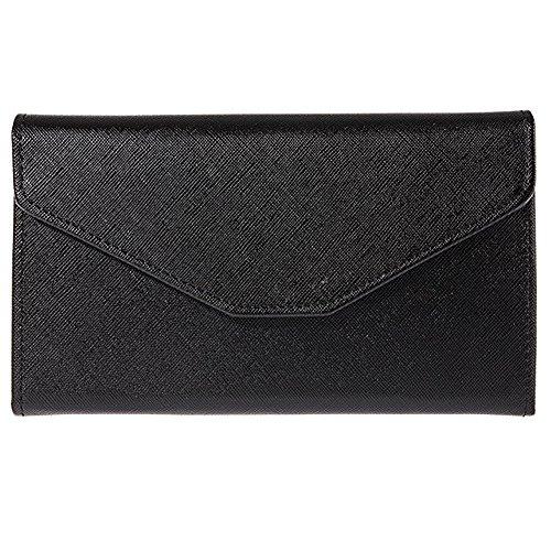Sookiay Womens Envelope Clutch Wallet – Black