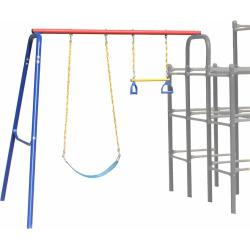 skywalker sports jungle gym swing set add on module blue - Skywalker Sports Jungle Gym Swing Set Add-On Module, Blue