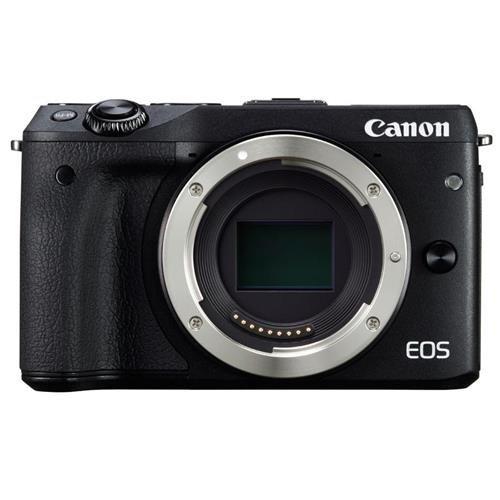 Canon EOS M3 Mirrorless Camera Body – Wi-Fi Enabled (Black)