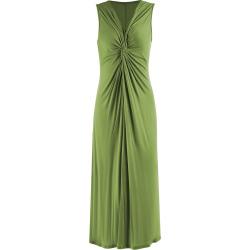 Plus Size Knot Long V Neck Evening Dress