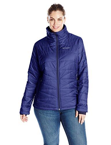 Columbia Women's Plus Size Mighty Lite III Jacket, Nightshade, 1X