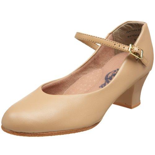 Capezio Women's Jr. Footlight Character Shoe,Caramel,8 M US