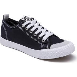 Women's Sneakers Lace Up Breathable Stylish Classic Canvas Patchwork Durable Lacing Sneakers