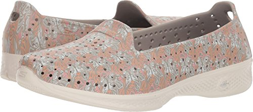 Skechers H2GO Flutter Womens Taupe Beige Slip On Water Shoes (8 US, Medium)
