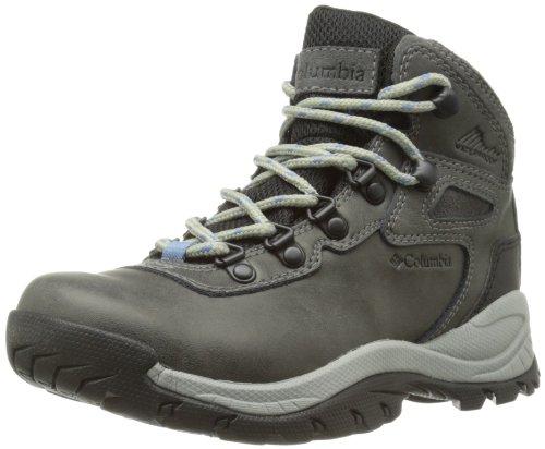 Columbia Women's Newton Ridge Plus Hiking Boot, Quarry/Cool Wave, 9 M US