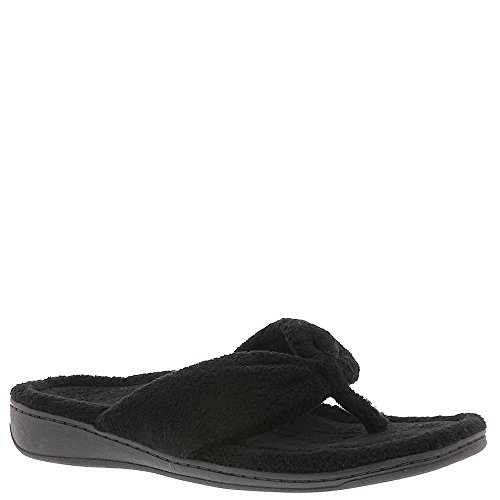 Vionic with Orthaheel Indulge Gracie Women's Slipper 5 B(M) US Black