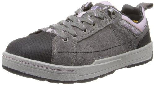 Caterpillar Women's Brode Steel Toe Work Shoe,Grey,7.5 M US