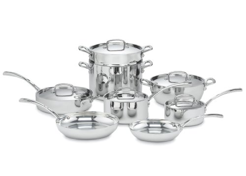 Cuisinart FCT-13 French Classic Tri-Ply Stainless 13-Piece Cookware Set