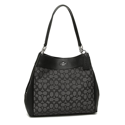 COACH Lexy Shoulder Bag in Outline Signature 2018 COLLECTION