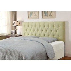 upholstered tufted queen headboard samuel lawrence green - Upholstered Tufted Queen Headboard - Samuel Lawrence, Green