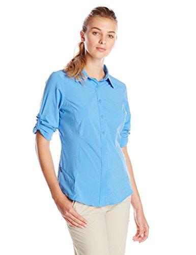 Columbia Sportswear Women's Saturday Trail II Long Sleeve Shirt, Harbor Blue, Large
