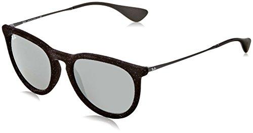 Ray Ban Unisex RB4171 60756G Erika Sunglasses Blk Velvet/Grey 54mm
