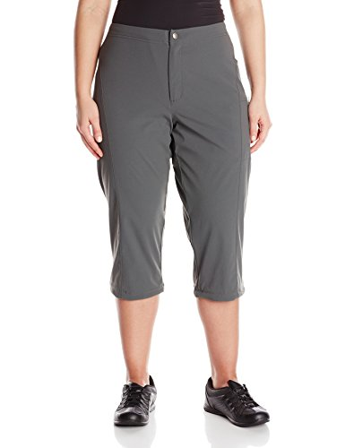 Columbia Women's Plus-size Just Right Ii Plus Size Capri Pants, grill, 22Wx20