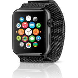 apple watch series 2 w 42mm stainless steel case milanese loop space - Apple Watch Series 2 w/ 42mm Stainless Steel Case & Milanese Loop - Space Black (Refurbished)