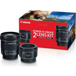 Canon Portrait & Travel 2 Lens Kit with 50mm f/1.8 and 10- 0570C010