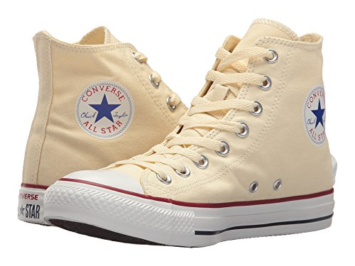 Converse Unisex Chuck Taylor All Star Core Hi Natural White Men's 8, Women's 10 Medium