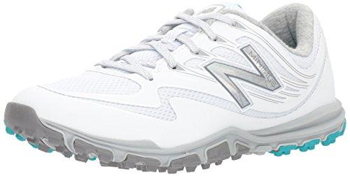 New Balance Women's Minimus Sport Golf Shoe, White, 6.5 B B US