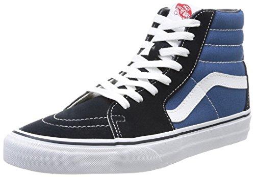 Vans Unisex SK8-Hi(tm) Core Classics Navy Sneaker Men's 13, Women's 14.5 Medium