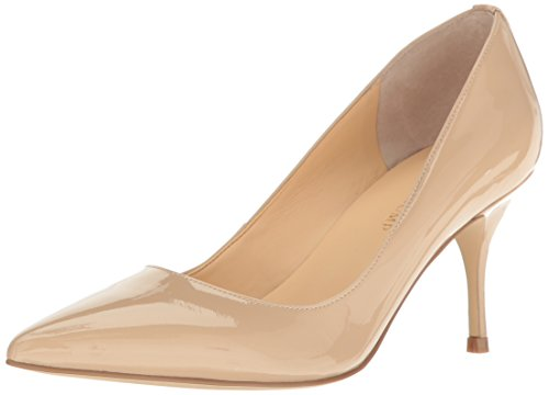 Ivanka Trump Women's Boni7 Dress Pump, Natural Patent, 8 M US