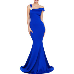 Open Shoulder Mermaid Prom Dress