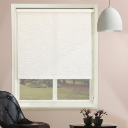 chicology textured roller shade white - Chicology Textured Roller Shade, White