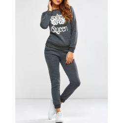 Queen Crown Sweatshirt and Pants