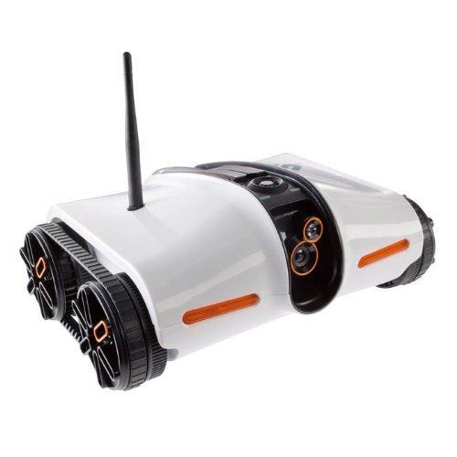 Brookstone Rover App-Controlled Spy Tank with Night Vision (並行輸入品)