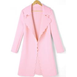 Scalloped Trim Coat