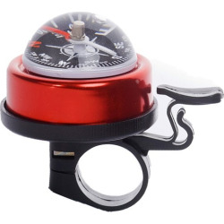 LEADBIKE 5 Colors Aluminum alloy and Plastic Bicycle Compass Bell Cyclin Handlebar Ring Horn Mountain Road Bike Alarm