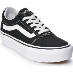 vans ward womens platform skate shoes size 5 black - Vans Ward Women's Platform Skate Shoes, Size: 5, Black