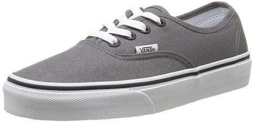 Vans VJRAPBQ Unisex Authentic Canvas Shoes, Pewter/Black, 6.5 B(M) US Women / 5 D(M) US Men