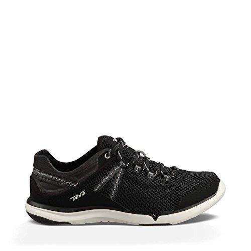 Teva Women's Evo Water Shoe, Black, 8 M US