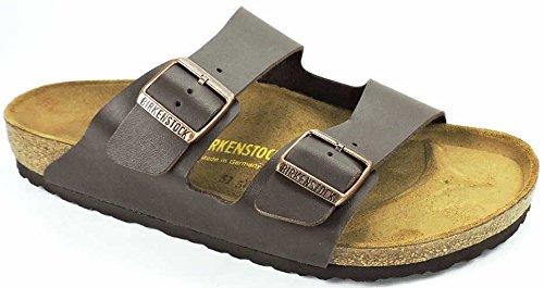 Birkenstock Men's Arizona BS Sandals, Brown, 8 US