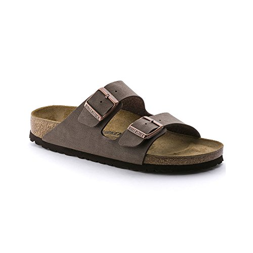 Birkenstock Arizona Mocha Birkibuc Sandal 39 N (US Women's 8-8.5)