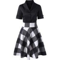 Made By Johnny MBJ Womens Short Sleeve Dolman Cardigan XXL Black