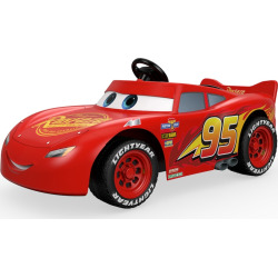 disney pixar cars 3 lightning mcqueen ride on by power wheels multicolor - Disney / Pixar Cars 3 Lightning McQueen Ride-On by Power Wheels, Multicolor